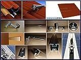 PROFINESS Komplett-Set Montagekit für 2 Standard Photovoltaik-Module auf Ziegeldach, Montage hochkant einreihig