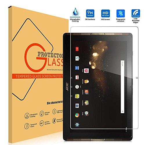 WiTa-Store Schutzglas Folie für Acer Iconia Tab 10 A3-A40 10.1 Zoll Tablet Display Schutz 9H Schutzglas One