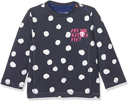 Noppies Baby-Mädchen Langarmshirt G Tee Ls Geneva, Midnight Blue, 74
