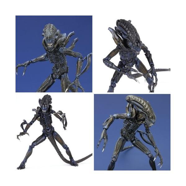 Aliens Revoltech SciFi Super Poseable Action Figure #016 Alien Warrior (japan import) 6