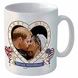 Nouveau Prince Harry & Meghan Mariage Royal Souvenir Mug en céramique (311,8Gram)