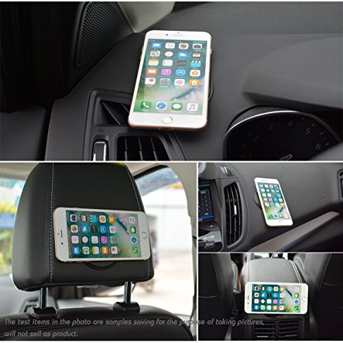 Brobeat Super Powerful Fixate Gel Pad Strong Stick Glue Anywhere Wall Sticker Pieces Fashion Brand Convenient Gel Pad Portable Mobile Phone Holder For Car Dash Board | Desks | Study Table Sticky Mobil
