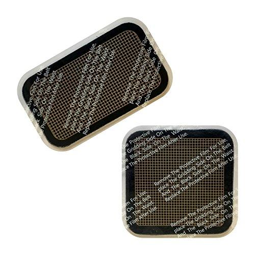 Plastimea Kit Recharge Ceinture Minceur Musculation MEABELT 1000 • Patchs conducteurs pour la Meabelt 1000 • Ceinture Musculation Abdominale • Electrostimulation • 18 Niveaux