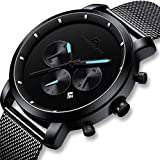 Best Designer Watches - Mens Watches Black Men Stainless Steel Luxury Business Review