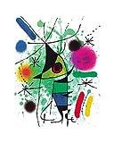 Joan Miro Der singende Fisch Poster Kunstdruck - Kostenloser Versand