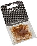 Lamoda Bun Nets, taglia unica, marrone chiaro, confezione da 3