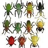 Deko-Insekten, Größe 5 cm, 60 sort.