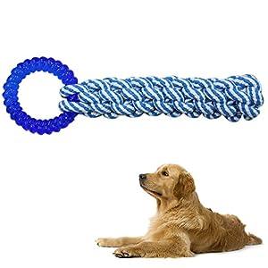 Tie-langxian-Pet-TPR-Cotton-Rope-Corn-Sticks-ToysDog-Chew-ToysDog-Rope-ToyPet-Dog-ToysNew-Year-Dog-Toys-Blue