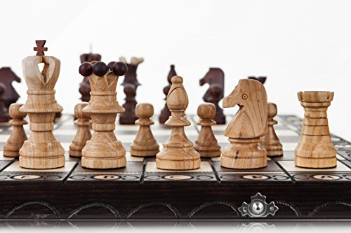 AMBASSADOR - Large 54cm / 21.5in Handcrafted Wooden Chess Set