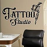 xingbuxin Vinyl Wandtattoos Für Tattoo Studio Decor Tattoo Zeichen Werkzeuge Wandaufkleber Tattoo...