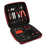 Coil Master V2Elektrozigaretten DIY-Werkzeugset, tragbar, Set zum Selbstwickeln, beinhaltet 3m Kanthal A1 Widerstandsdraht, Öko-Baumwole, Widerstandsmessgerät