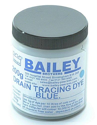 bailey-1992-drain-tracing-dye-per-localizzare-la-direzione-del-flusso-dellacqua-nelle-tubature-color