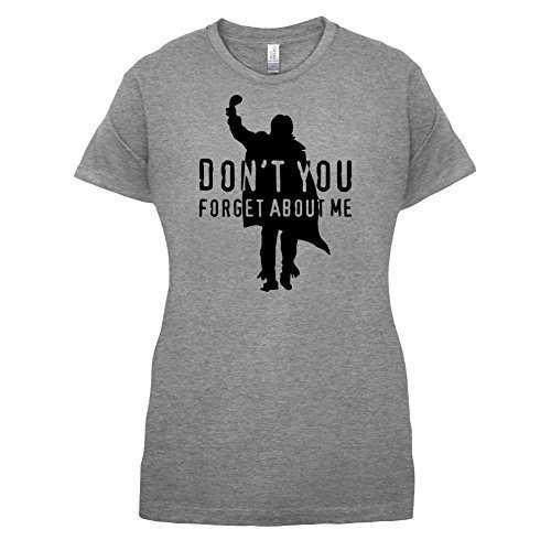 Don't You Forget About Me - Womens T-Shirt-Sports Grey-Large