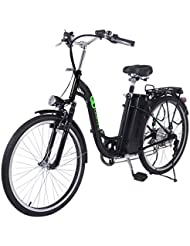 GOPLUS 26 Zoll Elektrofahrrad E-Bike Elektro Fahrrad 36V 10AH 250W wechselbare Geschwindigkeit