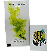 Hampstead Tea - Thè Verde in Foglia da Agricoltura Biodinamica Certificato Demeter- 100 gr - - Biodinamica Tè Verde