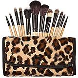 Wood Handle Professional Makeup Brush, Set of 10 Piece [FAS-MB-30-BR]
