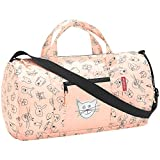 Reisenthel Mini Maxi dufflebag S Kids Sporttasche IH3064, 38 cm, 10 L, Cats and Dogs Rose