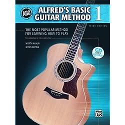 Alfred Alfred basiques de la méthode de guitare Niveau 1livre