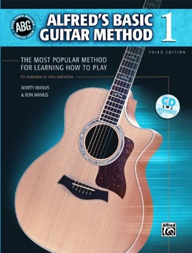 ALFRED Alfred 's Basic Guitar Methode Level 1 Buch
