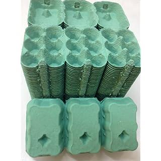 100 X 1/2 DOZEN EGG BOXES NEW (GREEN COLOUR)