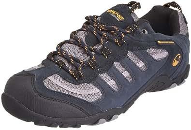 50 Peaks By Hi-Tec Men's Penrith Wp Navy/Grey/Core Gold Walking Shoe F000661/031/01 8 UK