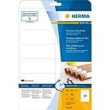 Herma 9533 Etiketten (A4 OutdoorKlebefolie, Folie matt, 99,1 x 42,3 mm) 120 Stück weiß