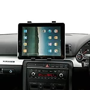 Support Grille Aeration Voiture Pivotant UltimateAddons Compatible Tablette PC iPad Apple