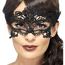 prezzo favorevole nuova stagione comprare a buon mercato Amazon.it: Maschera di Carnevale Nera - Amakando