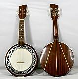 Musikalia Banjo Cavaquinho avec marqueterie, de lutherie