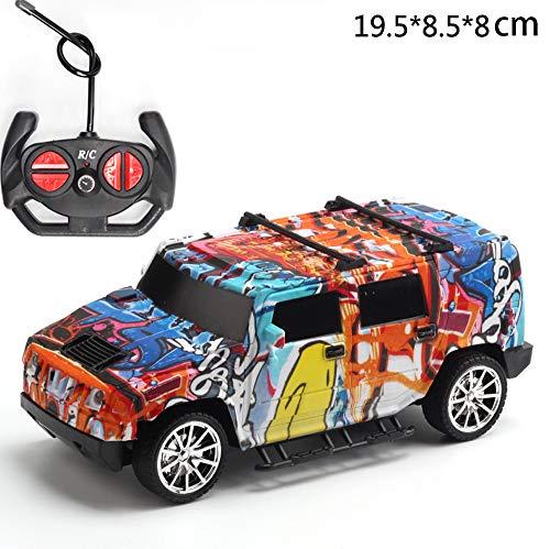 Modello di auto da corsa per bambini a distanza con telecomando per auto a controllo remoto