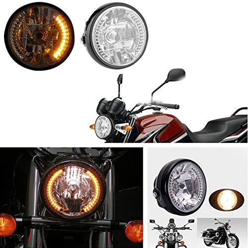 XuBa 7 pouces 35W H4 moto phare clignotant halogène lumière avant