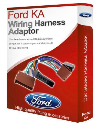 Ford Ka Cd Radio Stereo Kabelbaum Adapter Konverter Stecker, Loom Iso (Ford-stereo-kabelbaum)