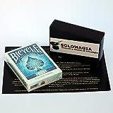 Mazzo di carte Bicycle - Frost - Mazzi di carte da gioco - con omaggio esclusivo firmato SOLOMAGIA