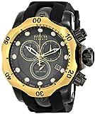 Invicta 16154 Men's Venom Reserve Gunmetal Dial Steel & Rubber Strap Chronograph Dive Watch