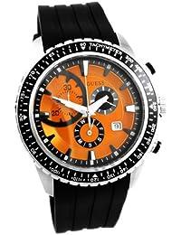 Guess Herren-Armbanduhr XL Chronograph Kautschuk W16545G4
