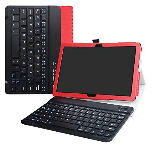 LiuShan MediaPad M5 Lite Bluetooth Teclado Funda
