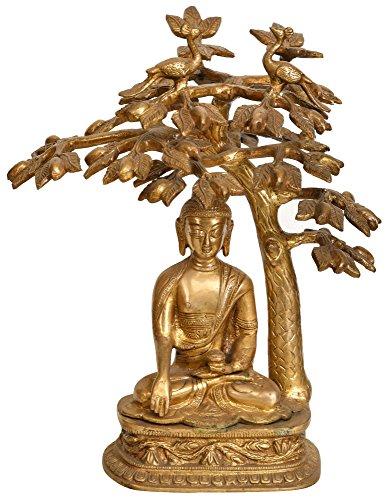 lord-buddha-in-meditazione-sotto-l-albero-della-bodhi-tibetano-buddista-divinita-brass-statue