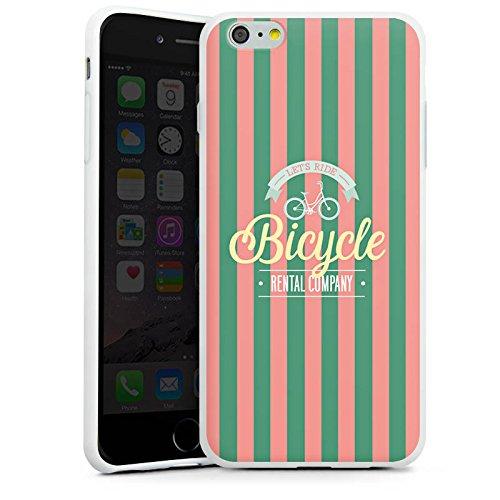 Apple iPhone X Silikon Hülle Case Schutzhülle Fahhrad Sommer Reisen Silikon Case weiß