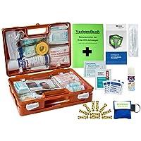 WM-Teamsport Sport-Sanitätskoffer Plus 2 Erste-Hilfe-Koffer DIN 13157 + DIN 13164 + Sportausstattung INKL. Sprühpflaster preisvergleich bei billige-tabletten.eu