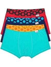 Happy Socks Mens Trunks Underwear 3 Pack