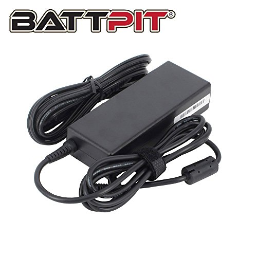 Pa-10 Ladegerät (BattPit 90W Laptop Netzteil Ladegerät für Dell PA-10 PA-12 PA-2E PA-21 PP12L PP13S PP29L PP39L 6TM1C PP22X HH44H F8834 WK890 09RN2C V1277 06TFFF AA22850 CM889 310-3399 mit Netzkabel - [19V 4.74A])