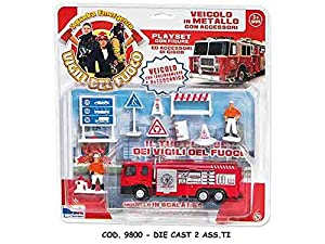 Rstoys - Ronchi Supe 3.st9800Blister Die Cast Bomberos, Surtidos