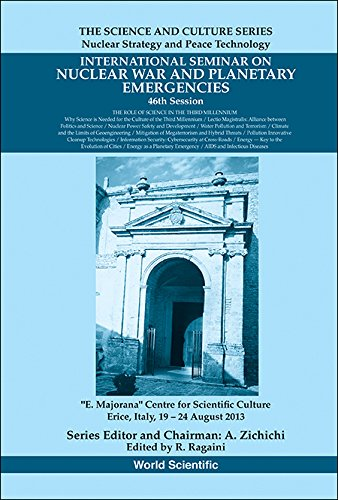 International Seminars On Nuclear War And Planetary Emergencies 46th Session:the Role Of Science In The Third Millennium (the Science And Culture Series ... And Peace Technology) por R Ragaini epub