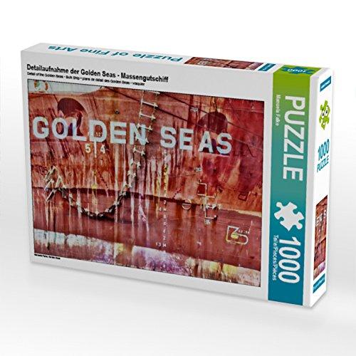 CALVENDO Puzzle Detailaufnahme der Golden Seas - Massengutschiff 1000 Teile Lege-Größe 64  Preisvergleich