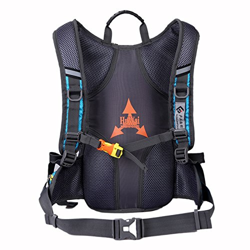MJ Herren-Outdoor-Rucksack / Multifunktions-Mountainbike-Rucksack / Reit-Umhängetasche / Outdoor-Bergsteigen Rucksack Blue