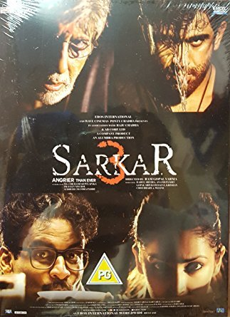 SARKAR 3 Film ~ Bollywood ~ Hindi mit englischem Untertitel ~ Amitabh Bachchan ~ India ~ 2017