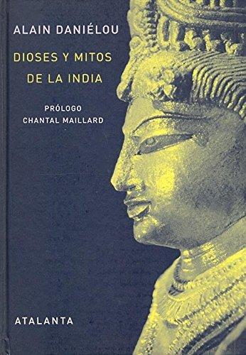 Portada del libro Dioses y Mitos de la India (IMAGINATIO VERA)