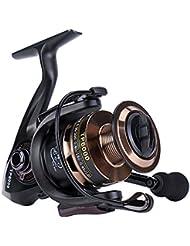 Gosccess Carrete de pesca Izquierda / Derecha plegable intercambiable Carretes de pesca Spinning 14+1 BB Carretes de pesca(6000)