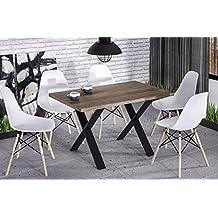 suchergebnis auf f r esstisch metallgestell. Black Bedroom Furniture Sets. Home Design Ideas