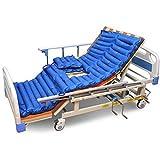 GxNI Anti-decubito materasso Air Bed Pressione medica Sore Pad Infermiere Anziani Paralizzati Pazienti letto Cuscino gonfiabile con rilievo con pompa Lnflatable Blue